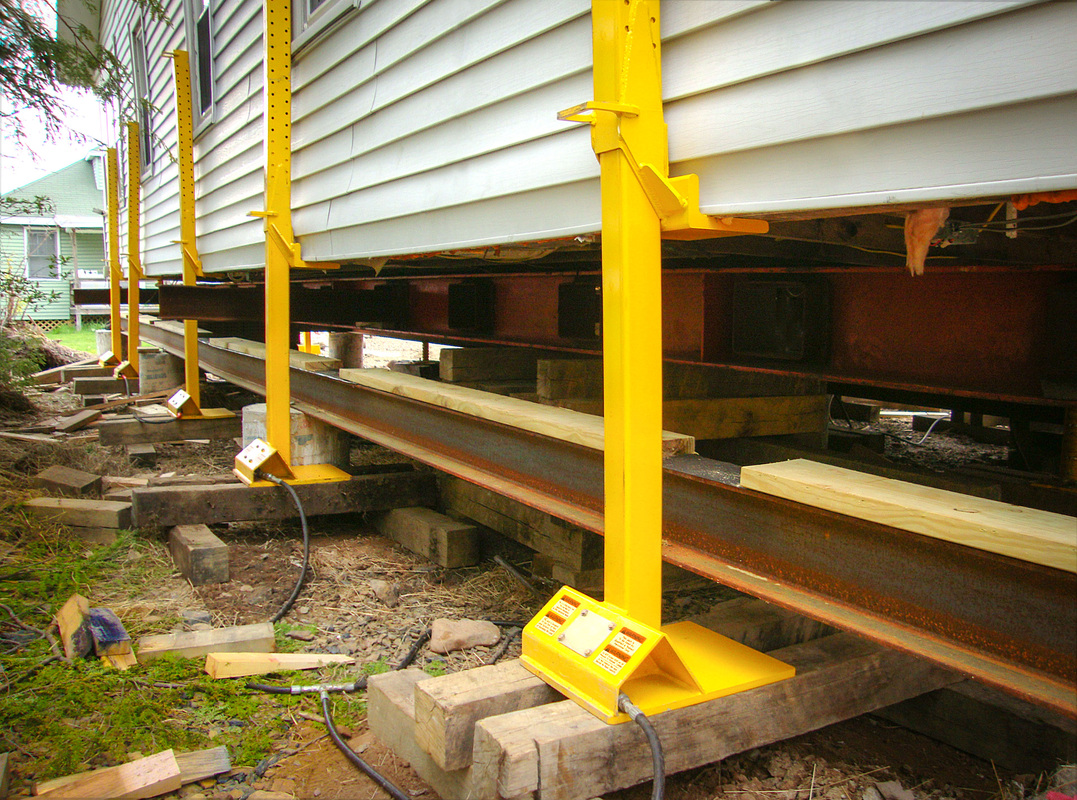Hydraulic Jack Lifting Foundation For House : Buckingham hydraulic toe jacks